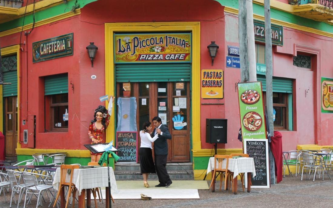Buenos Aires - La Boca Tango